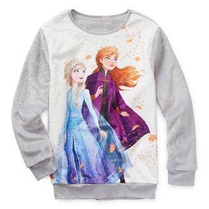 Disney Frozen Elsa & Anna Sherpa Pullover